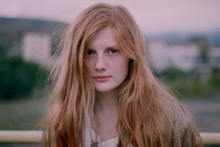Analog Analogue Photography Blond Hair Close-up Day Film Film Photography Filmisnotdead Focus On Foreground Front View Headshot Long Hair Looking At Camera Nature One Person Outdoors Portrait Real People Redhead Young Adult Young Women Women Around The World Fresh on Market 2017 The Portraitist - 2017 EyeEm Awards The Portraitist - 2018 EyeEm Awards This Is Natural Beauty International Women's Day 2019
