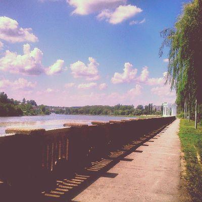 Vnua Summer Sunshine Instagood instagrammer river clouds sky igukraine ukraine
