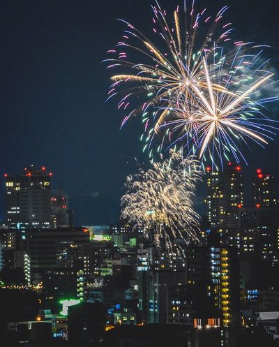 Firework 花火 Beautiful Summer Night Nice Popular Photos Festival Sky Enjoying Life