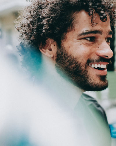 #FREIHEITBERLIN Berlin Beard Black Hair Emotion Facial Hair Hair Hairstyle Happiness Headshot Human Face Leisure Activity Lifestyles Looking Men One Person Portrait Real People Smiling Young Adult Young Men