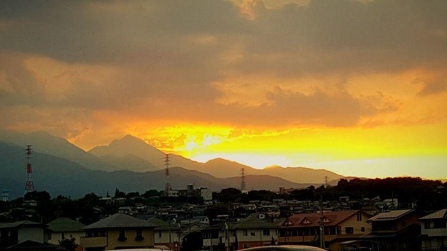 Spring evening grow at Minami-alps 山梨 甲斐駒ヶ岳