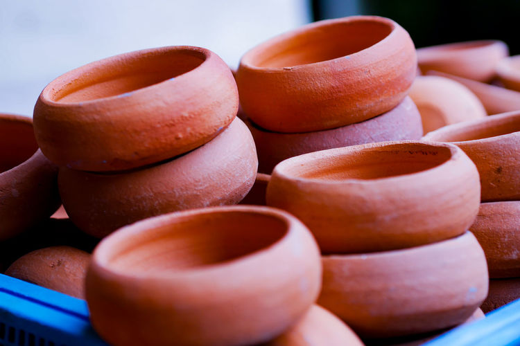 Travel Amazing Holiday Clay Earthenware Close-up Terracotta Ready-to-eat Defocused Pottery Pie Pot Molding A Shape Bowl Noodles Macaroon Bagan Temptation Pastry Sculptor