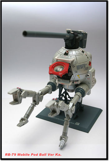 Ball Gundam Plamodel Gunpla Nikon D50