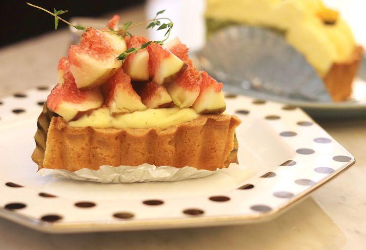 a piece of Fig Cake