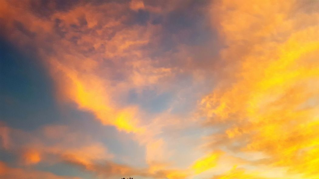 Sky Backgrounds Cloud - Sky No People Nature Sunset Abstract Beauty In Nature Day Outdoors Heaven Dramatic Sky Low Angle View Space Fire Check This Out Nature_collection Sky_collection Cloud_collection  Sky And Clouds Cloudscape Paint The Town Yellow