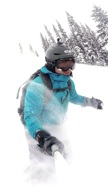 A Good Front Side Powder Day on RMR Site Seeing PowderSkies K2obseths Revelstokemountainresort Wintertime Gopro