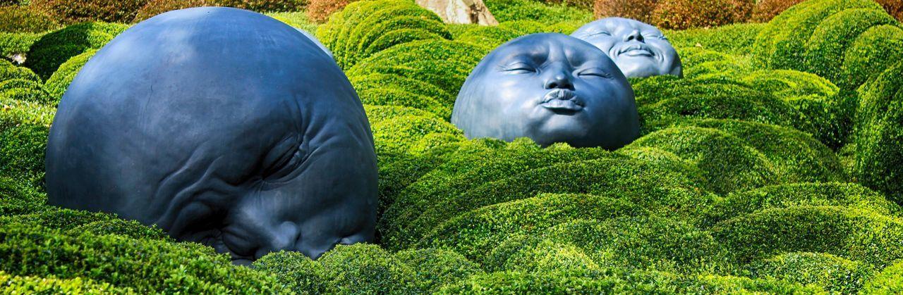 Les Jardins d'étretat (Garden's Etretat, France) Land Arts Monet Monet Garden Close-up Day Green Color Land Art Landscape Architecture Landscape Art Nature No People Outdoors Plant Sculpture Statue Topiary Topiary Art Topiarygarden étretat