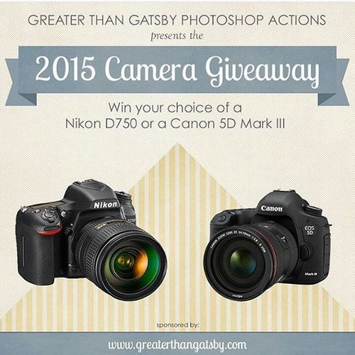 Camera giveaway! Surely the impossible!! GatsbyActions Photoshop Presets Check Insta Dm Image Edits Photoshop