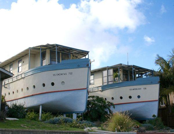 Boathouses Encinitas Exterior House Residential Building
