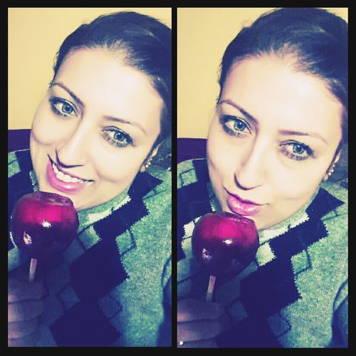 Elma şekeri sevdiğim doğrudur 🎀 💖 💗 💞 💟 🍭🍭 Elmasekeri şeker Candy Apple Candy Ankara Batikent Likeforlike Hi Okbye :) Turkey