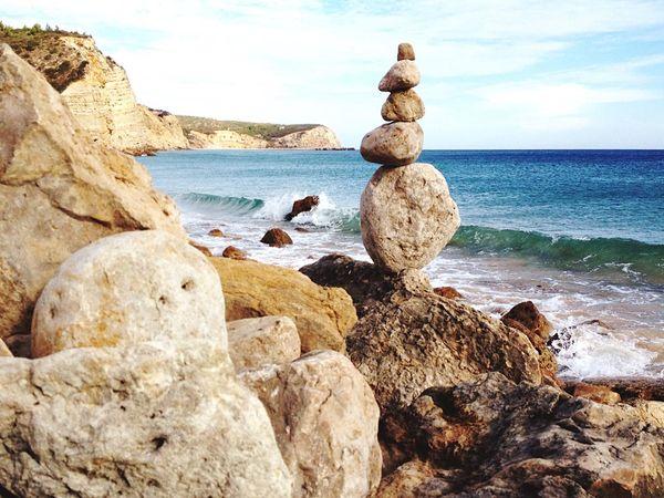 Stones Nature Rockstacking Coast Beach