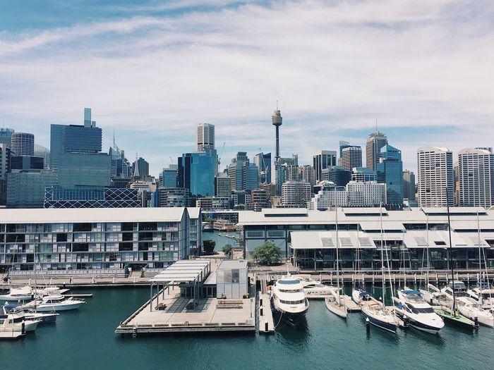 Architecture City Harbour Sydney