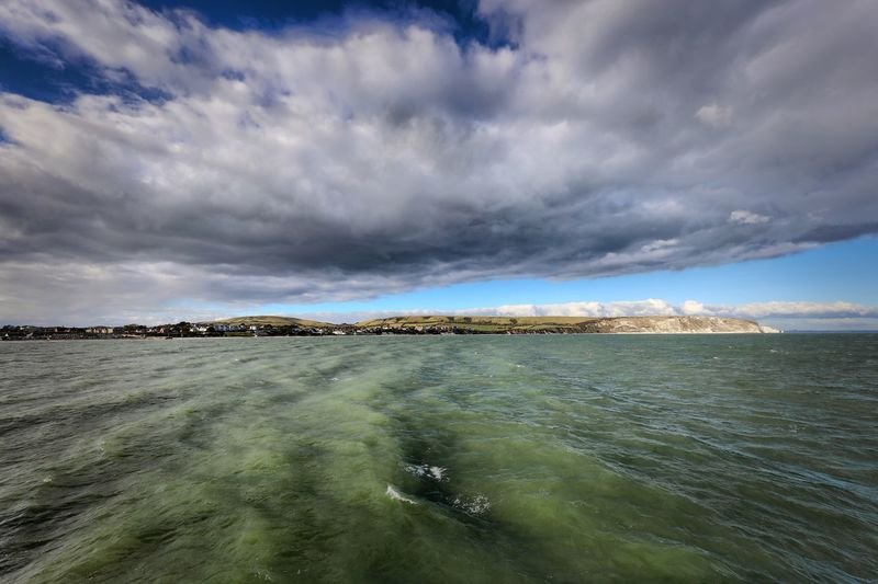Swanage Sky Cloud - Sky Water Sea Scenics - Nature Beauty In Nature Tranquil Scene