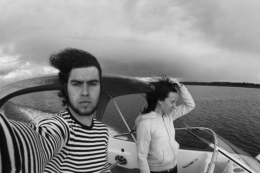 Zavidovo Yachts Volga Lake B&w Enjoying Life Holidays