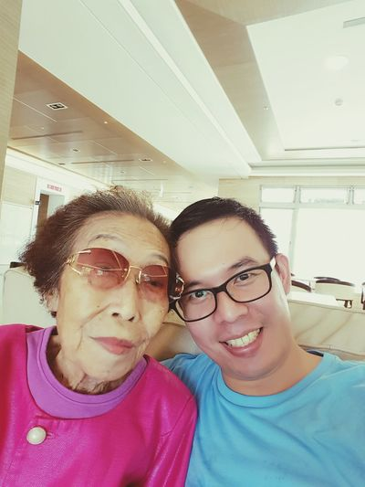 三峽清福養老院 Family Traveling My GrandMa And Me Grandmother Alzheimer Grandma Family❤ Grandma And Grandson Elderly