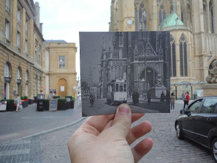 Metz, France Patchwork Cathédrale St Etienne