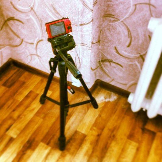фотоаппарат штатив трипод гаджет мое мой nice picture photo tripod