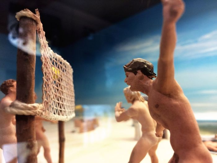 EyeEm Selects Shirtless Beach Real People Outdoors Day Men Sky One Person Close-up Beach Volleyball Leisure Activity