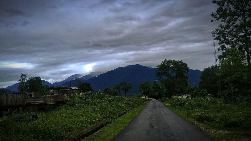 Hills Arunachal Pradesh Storm Cloud Outdoors Roadside EyeEmNewHere Green EyeEmNewHere The Week On EyeEm