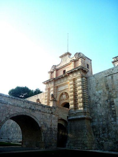 Wall Fort Battlement