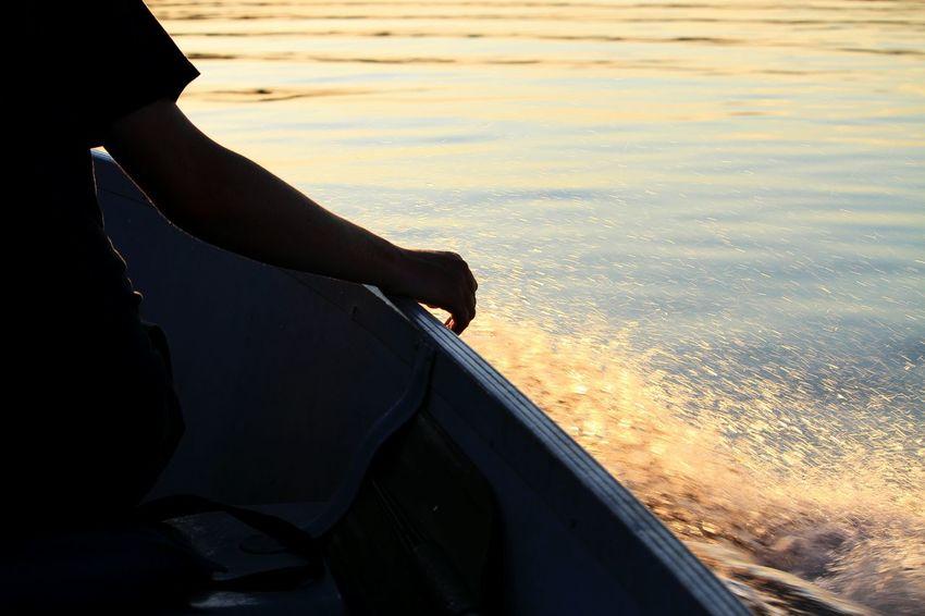 Summer Views Lakes  Boating Minnesota Nature Bear Island Lake Sunset_collection
