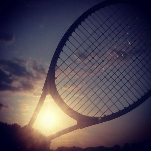 Worked the racket, smacked the ball and ran the court 🎾😊 Twas a good day Tennis Sotiring