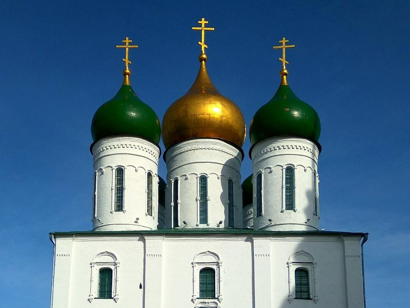 Dome Sky Architecture Close-up Building Exterior Church Christianity Clear Sky