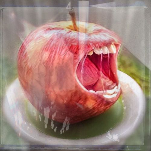 Photographic Approximation MyRabid Apple Facial Experiments Forgotten Dreams New Nightmares Surrealism