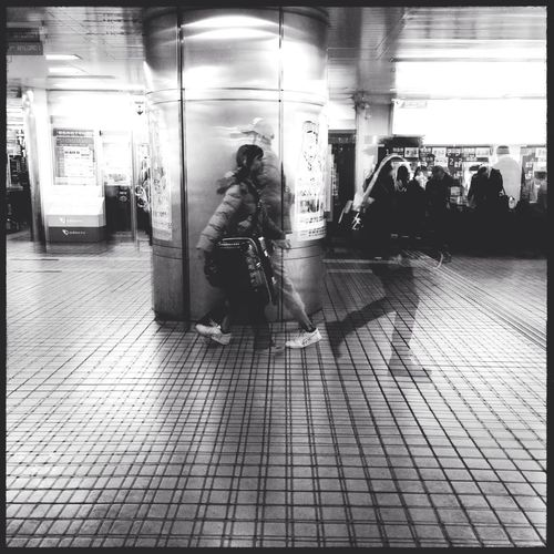 Slow motion Street Photography IPhoneography