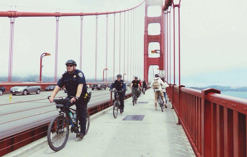 Bike Police Officer at San Francisco