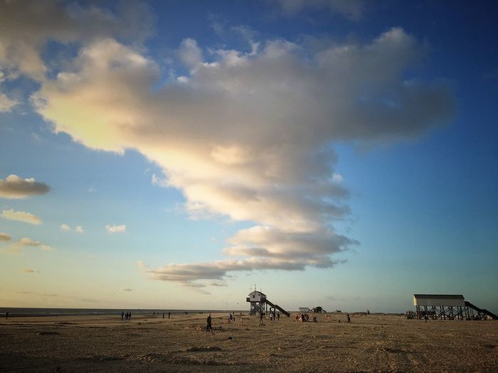 Cloud - Sky Nature Beauty In Nature Beach Outdoors Horizon Over Water Interesting Perspectives Outdoor Photography Outside Photography Outdoors Photograpghy  Nordsee Water Sky Sea Nordfriesland Sand Landscape Taking Photos StreetLife_Award Nature Clouds