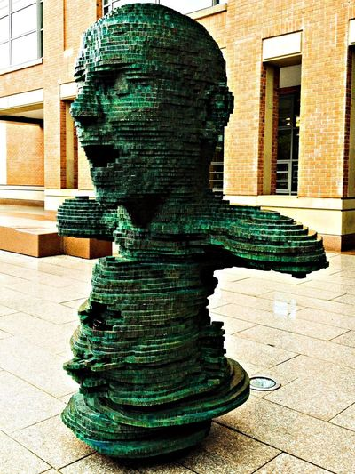 The Sculpture 'Eco' outside the McClay Library at the Queen's University Belfast Taking Photos Eyeem Philippines