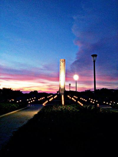 Ssn Clock Tower Colorful Evening Sky Eveningwalk Evening