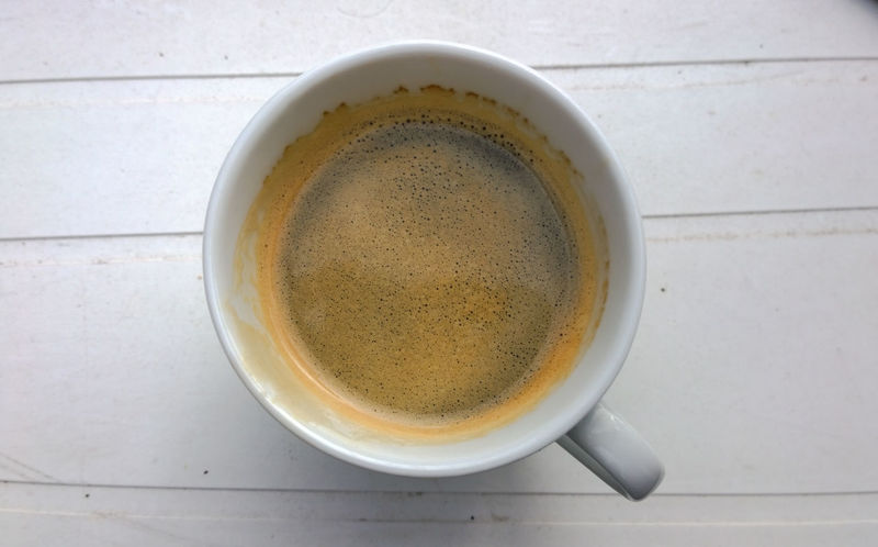 Beverage Cafexperiment Close-up Coffee Coffee Coffee - Drink Coffee Cup Cup Directly Above Elevated View No People Overhead View Refreshment Still Life White