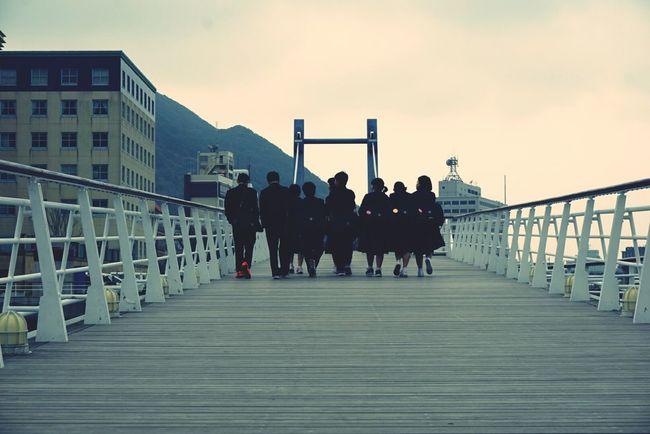 In Japan Kitakyushu Mojikou Retoro Brige Photo Student Streetphotography Short Trip Eyemphotography