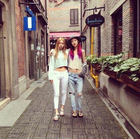 Korean Model Song Hae Na&Irene Model