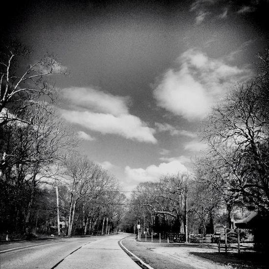 #BW Society The Road Less Traveled Abandoned