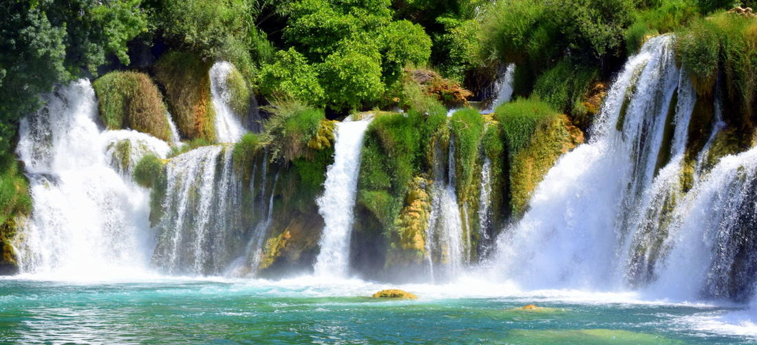 Beauty In Nature Day Flowing Flowing Water Motion Outdoors Power In Nature Splashing Water Waterfall