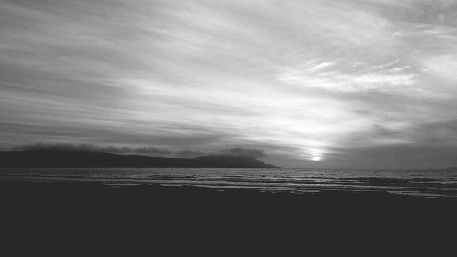 The setting sun in Ensenada First Eyeem Photo