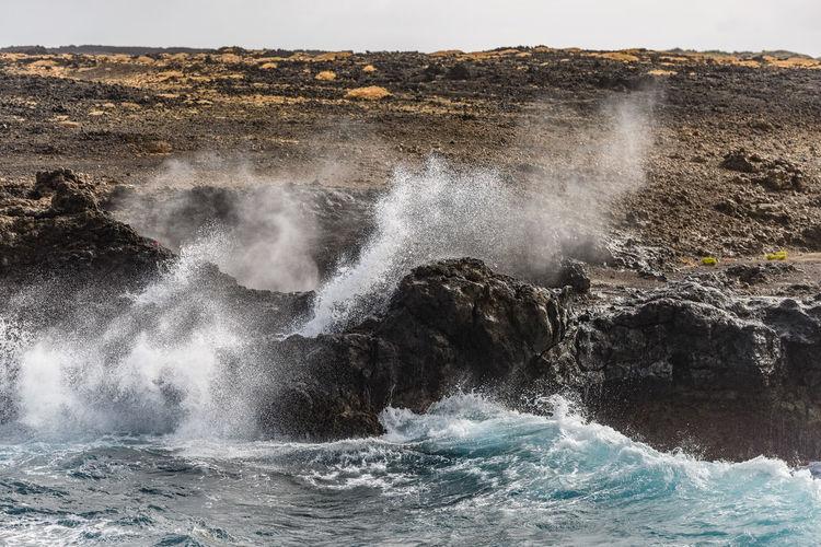 Waves and rocks at the volcanic based coast of Lanzarote Lanzarote Lanzarote Island Lanzarote-Canarias Lanzarote Collection Coast Coastline Coastline Landscape Seascape Waterscape Wave Waves Waves, Ocean, Nature Sea Ocean Ocean View Ocean Photography Atlantic Ocean Beach Beachphotography Beach Photography