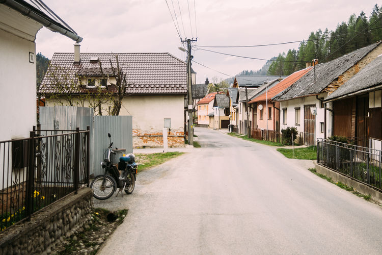 Architecture Countryside Empty Lesnica Old Outdoors Quiet Road Rural Slowakia Tranquility Village