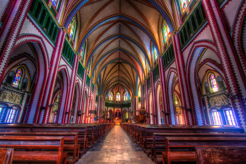 Interior Of St Marys Cathedral