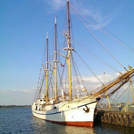 Hafen Stralsund - historisches SegelschiffTaking Photos Hello World Traveling