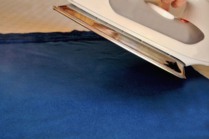 Blue Close-up Cloth Domestic Life Home Home Workout Iron Ironing Ironing Clothes Metal No People Surface Level Working