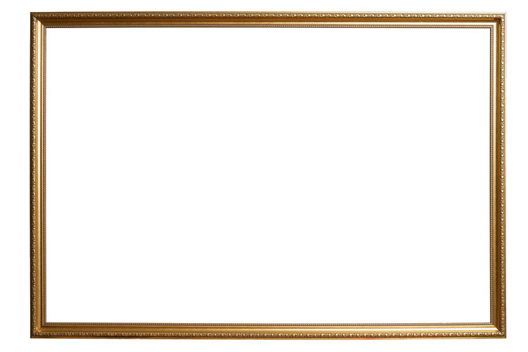Low angle view of an empty white background