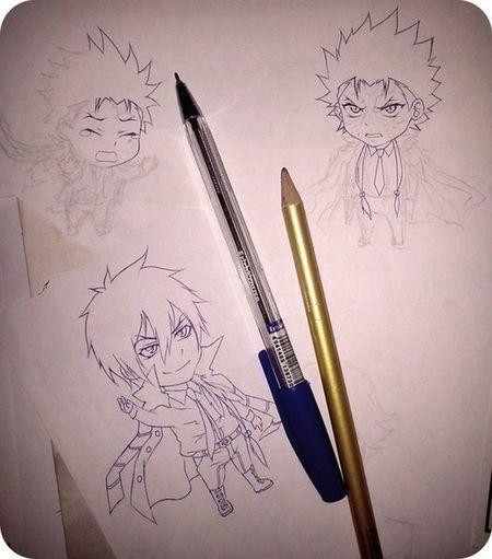 Anime Reborn Drawing XanXus