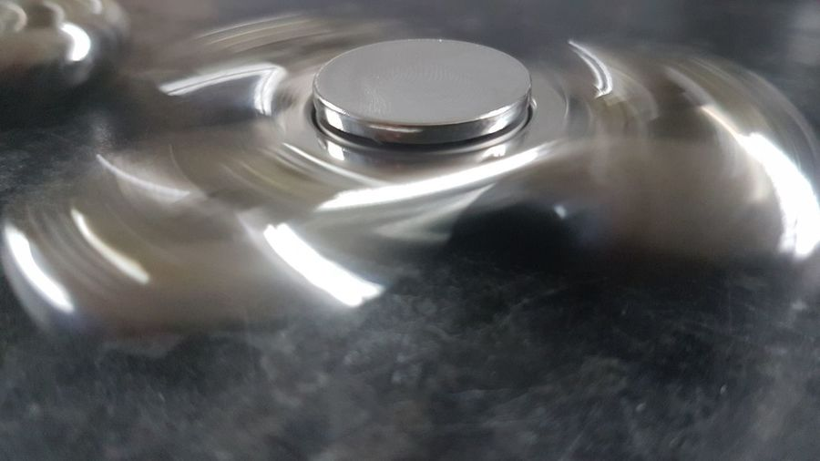 Close-up No People Indoors  Spinner Figitt Figit Spinners Metal Full Frame High Angle View