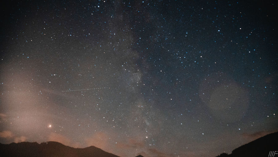 Night Star - Space Space Astronomy Sky Scenics - Nature Beauty In Nature Galaxy Star Tranquility No People Nature Star Field Low Angle View Tranquil Scene Infinity Constellation Outdoors Idyllic Mountain Milky Way Space And Astronomy