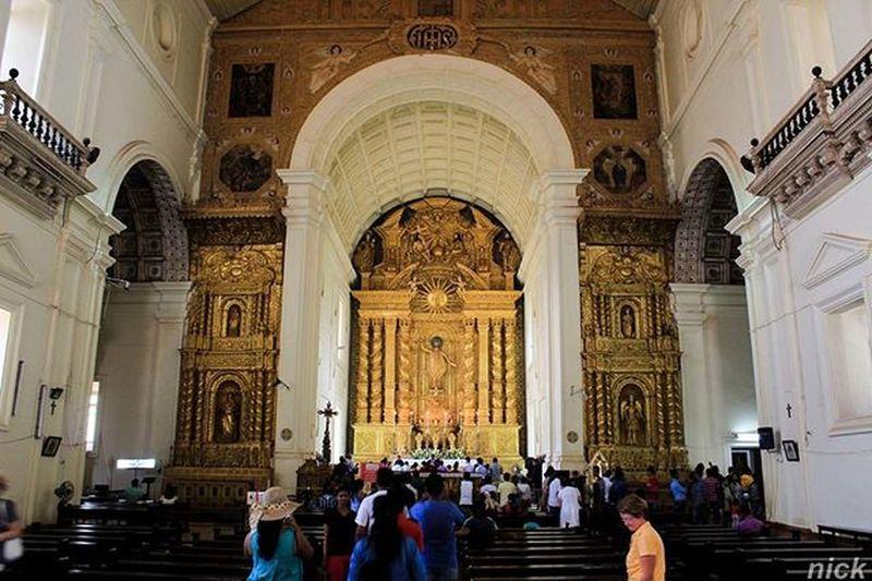 Basilicaofbomjesuschurch Goa Indiapictures Oyemyclick Mumbai_igers Architecture _indiasb _soi Instamumbai