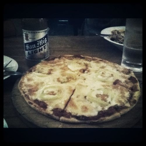 Pizza margheritta from Bacci